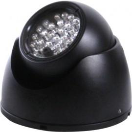 MINI EXTERNAL CCTV DOME 40M IR LED FLOOD LAMP
