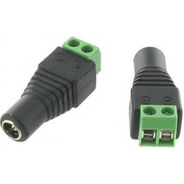 EASY FIT FEMALE 5.5MM X 2.1MM DC POWER CONNECTOR ADAPTOR