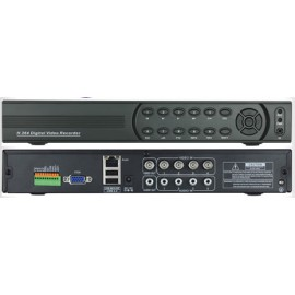 4 CHANNEL DVR D1 HOME CCTV RECORDER DVR WITH NETWORK AND MOBILE PHONE REMOTE VIEWING