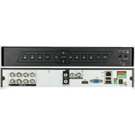 8 CHANNEL D1 HOME CCTV RECORDER DVR WITH NETWORK AND MOBILE PHONE REMOTE VIEWING