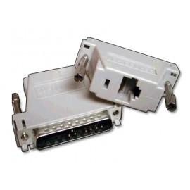 DB9 / DB25 to RJ45 Serial / Parallel Kitchen Printer Adapter for XN EPOS Terminals