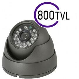 800 TVL CCTV DOME CAMERA 20M IR 3.6MM FIXED LENS