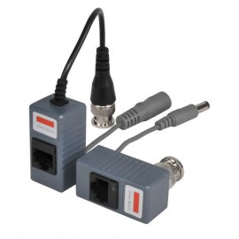PAIR OF CAT5 VIDEO & POWER BALUN PAIR INCLUDES TRANSMITTER & RECEIVER