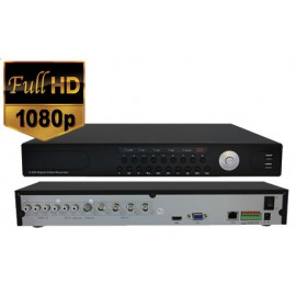 High Definition 4 Camera DVR with Mobile Viewing & Network Compatability