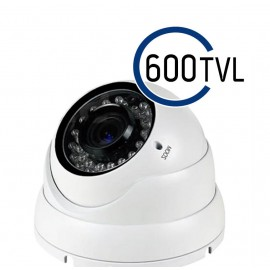 600TVL Dome Camera with 30M Infa-Red and Varifocal Lens